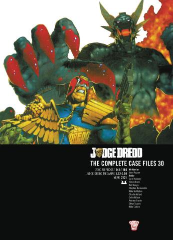 Judge Dredd: The Complete Case Files Vol. 30