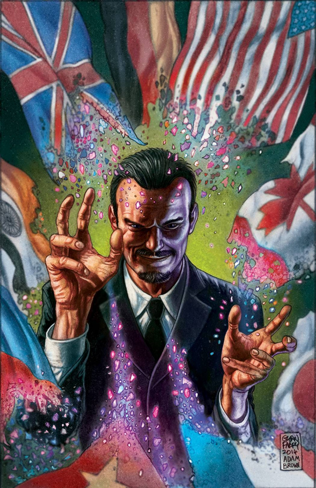 Harbinger: Omegas #2 (20 Copy Fabry Cover)