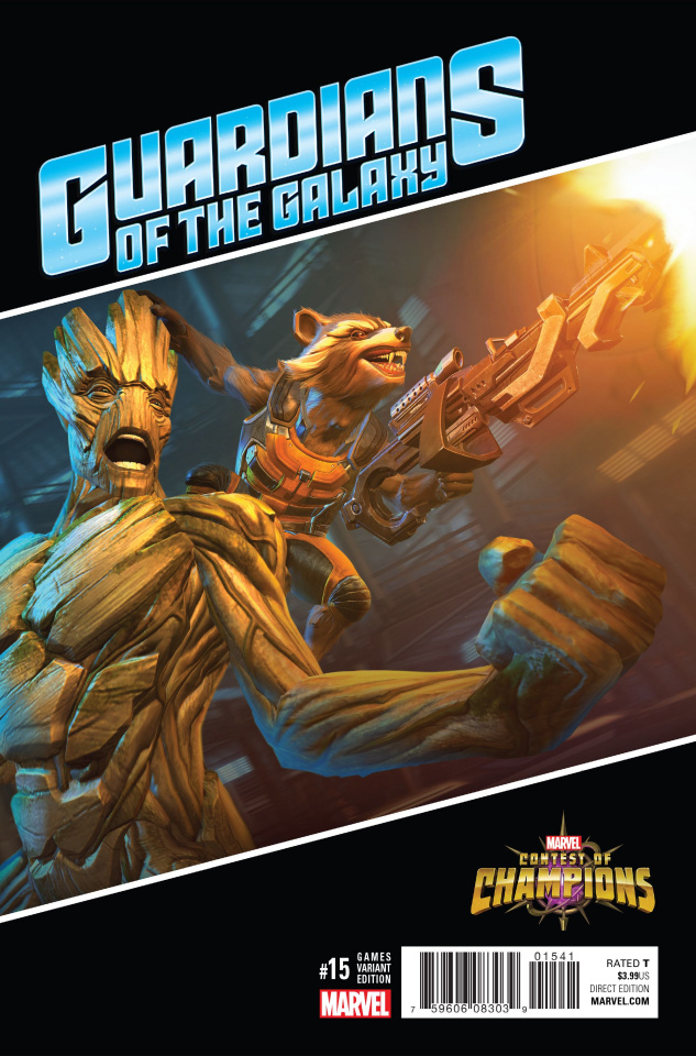 Guardians of the Galaxy #15 (Games Cover)