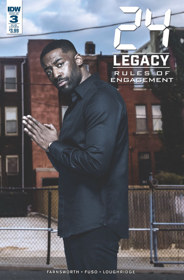 24 Legacy: Rules of Engagement #3 (Subscription Cover)