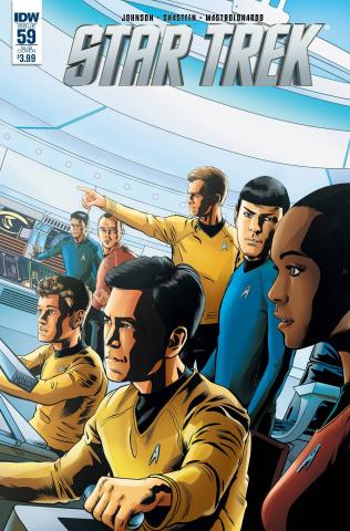 Star Trek #59 (Subscription Cover)