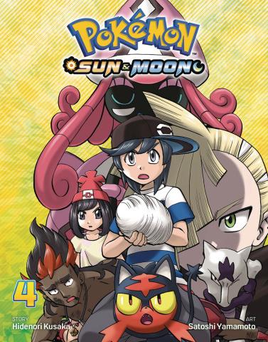 Pokémon: Sun & Moon Vol. 4
