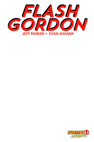 Flash Gordon #1 (Blank Authentix Cover)