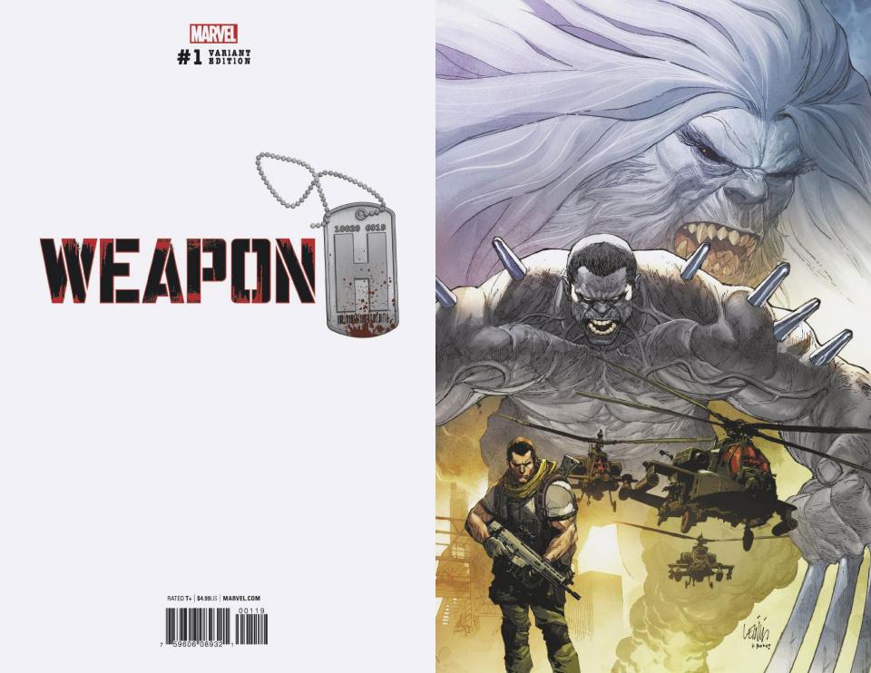 Weapon H #1 (Yu Virgin Cover)
