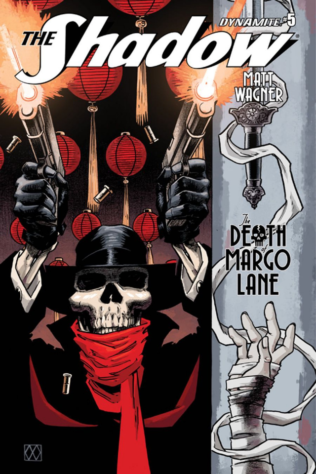 The Shadow: The Death of Margo Lane #5 (Wagner Cover)