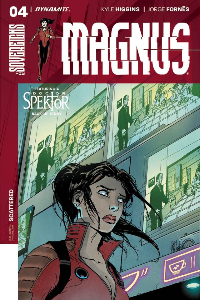 Magnus #4 (Camuncoli Cover)
