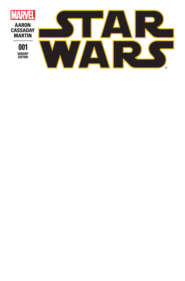 Star Wars #1 (Blank Cover)