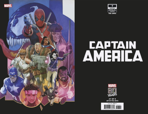 Captain America #7 (Noto Marvel 80th Anniversary Cover)