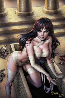Grimm Fairy Tales: Grimm Tales of Terror #2 (Sanapo Cover)