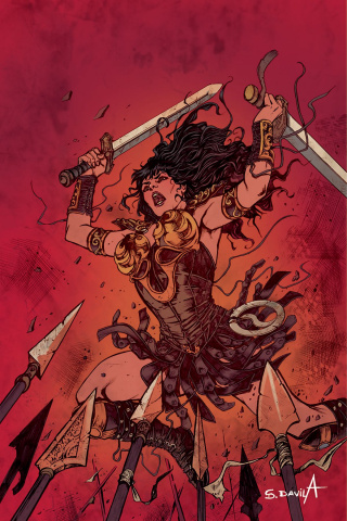 Xena #6 (10 Copy Davila Virgin Cover)