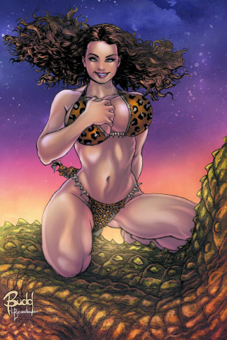 Cavewoman: The Return #2 (Root Cover)