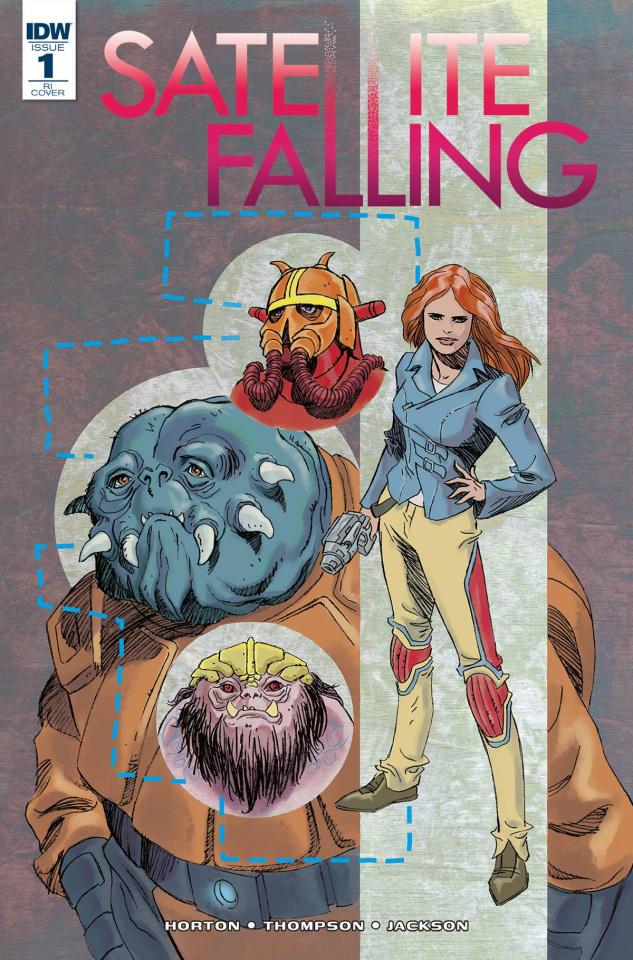Satellite Falling #1 (10 Copy Cover)
