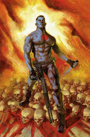 Bloodshot's Day Off #1 (20 Copy Guedes Cover)