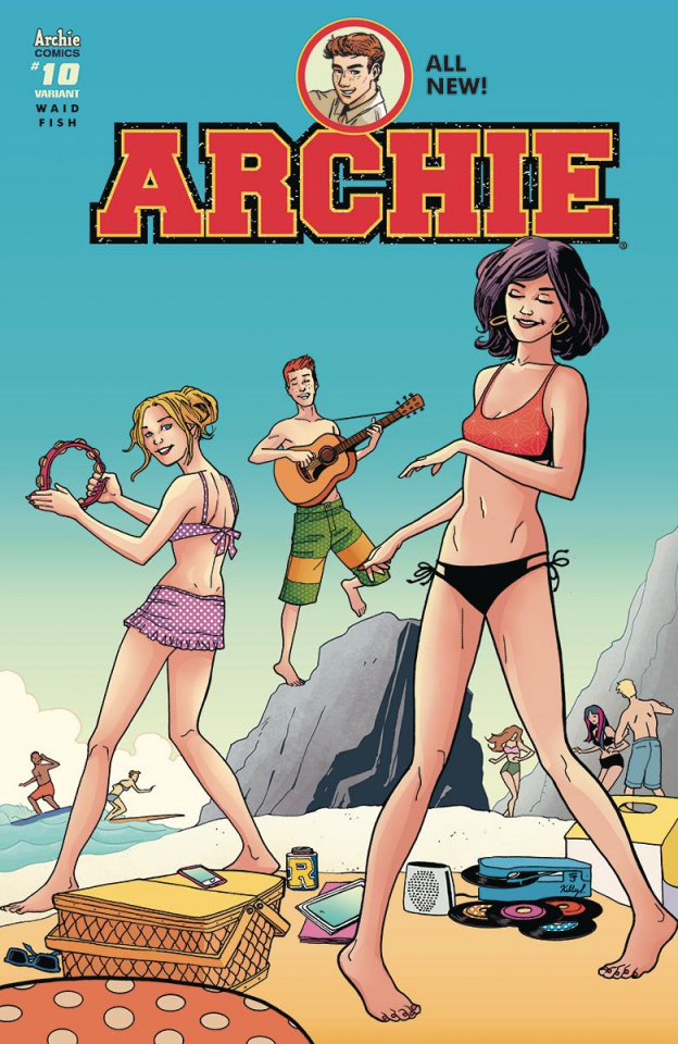 Archie #10 (Sandy Jarrell Cover)