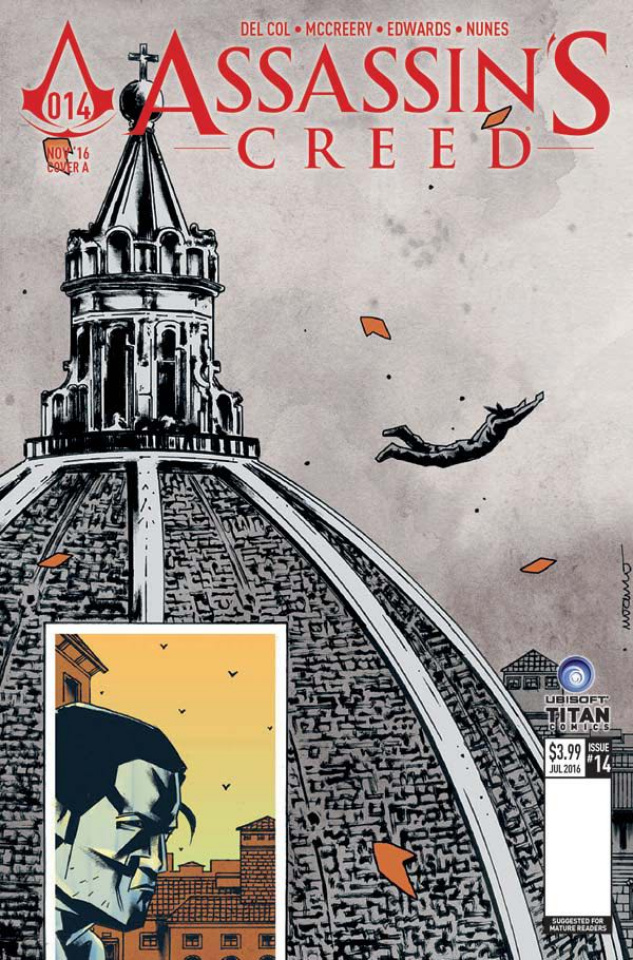Assassin's Creed #14 (Fuso Cover)
