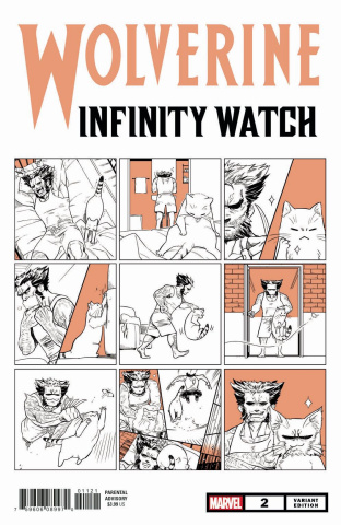 Wolverine: Infinity Watch #2 (Fuji Cat Cover)
