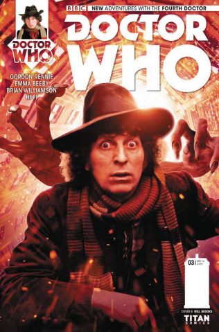 Doctor Who: New Adventures with the Fourth Doctor #3 (Photo Cover)