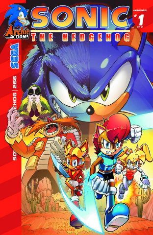 Sonic the Hedgehog #266