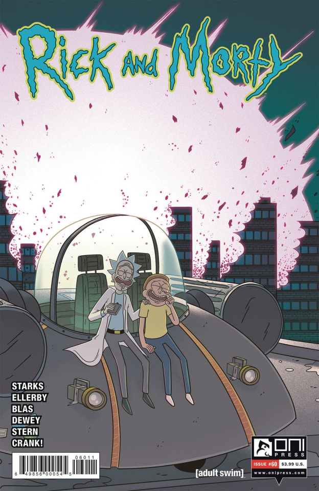 Rick and Morty #60 (Ellerby Cover)