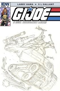 G.I. Joe: A Real American Hero #200 (25 Copy Cover)