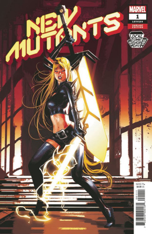 New Mutants #1 (Artist Local Comic Shop Day Cover)