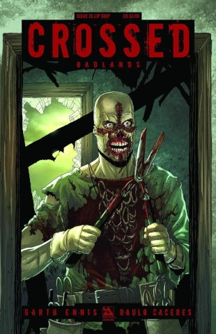 Crossed: Badlands #25 (Lip Snip Cover)