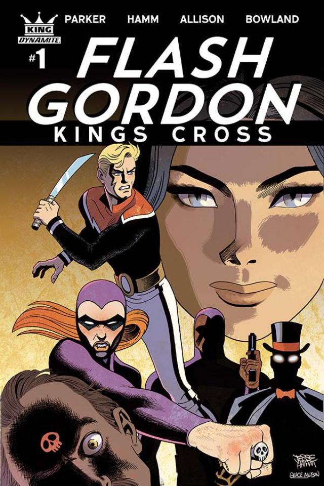 Flash Gordon: Kings Cross #1 (Hamm Cover)