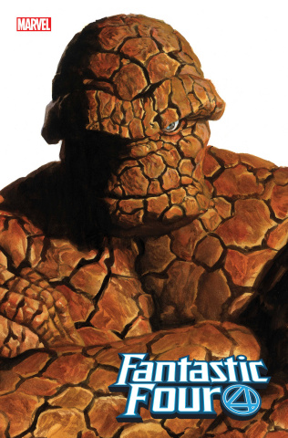 Fantastic Four #24 (Alex Ross Thing Timeless Cover)
