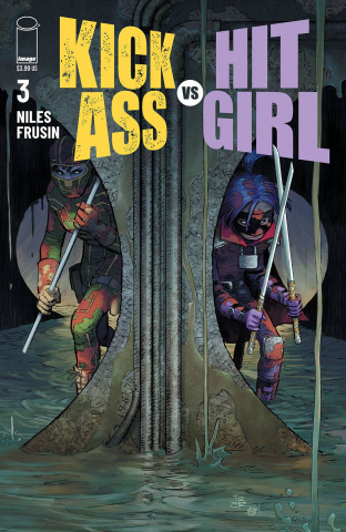 Kick-Ass vs. Hit-Girl #3 (Romita Jr Cover)