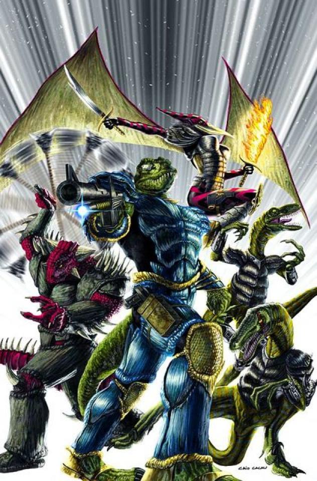 Jurassic Strike Force 5 #4 (Cacau Cover)
