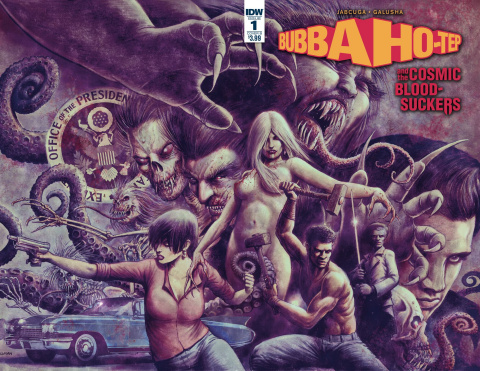 Bubba Ho-Tep and The Cosmic Blood-Suckers #1 (Galusha Cover)