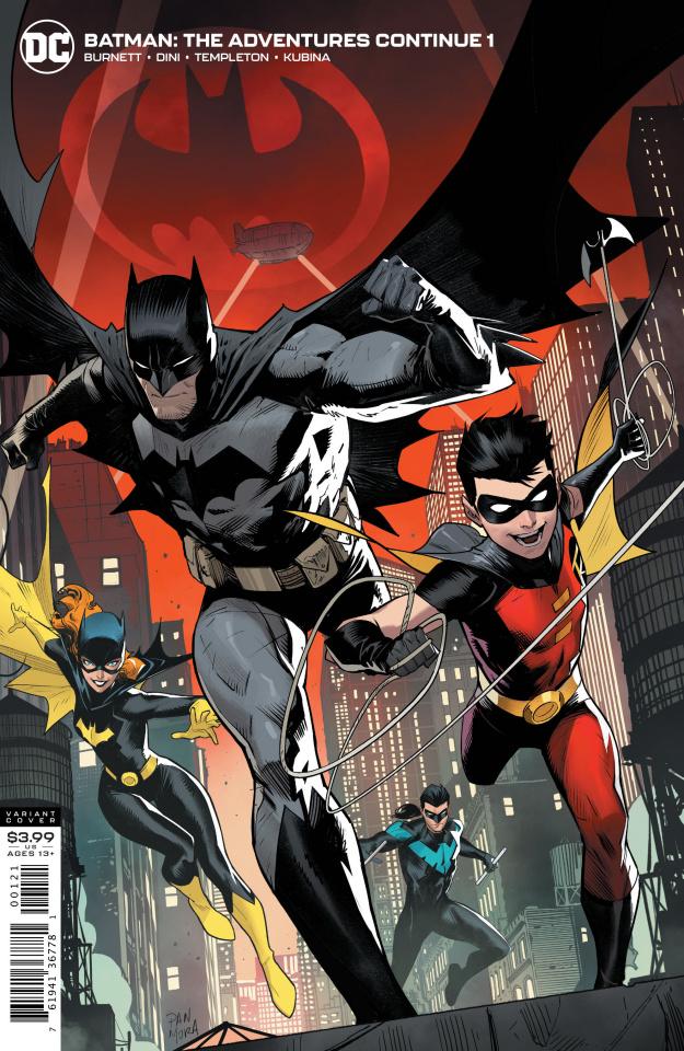 Batman: The Adventures Continue #1 (Dan Mora Cover)