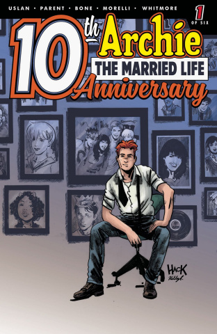 Archie: The Married Life - 10 Years Later #1 (Hack Cover)