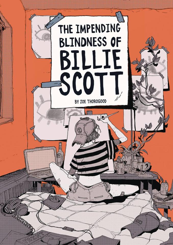 The Impending Blindness of Billie Scott (Oversized Edition)
