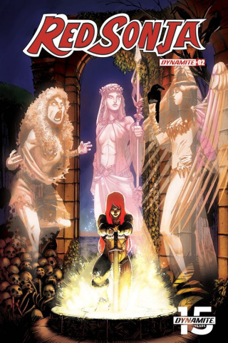 Red Sonja #2 (10 Copy Seduction Cover)