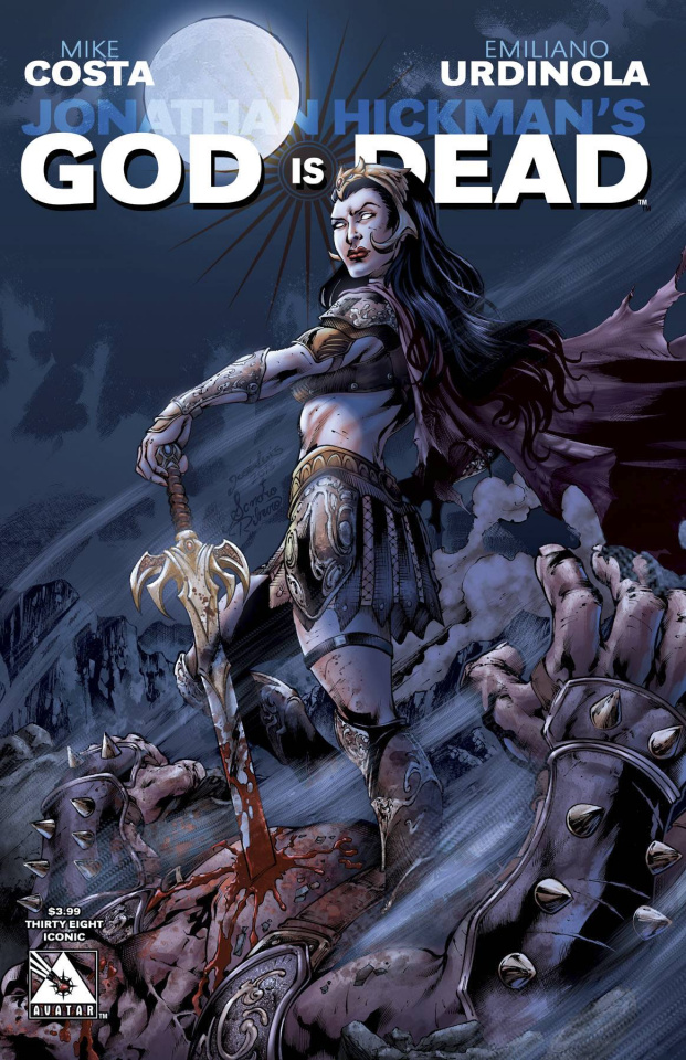 God Is Dead #38 (Iconic Cover)