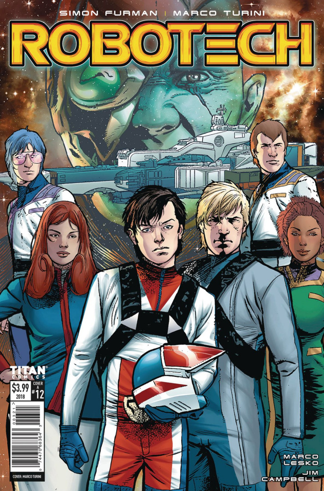 Robotech #12 (Turini Cover)