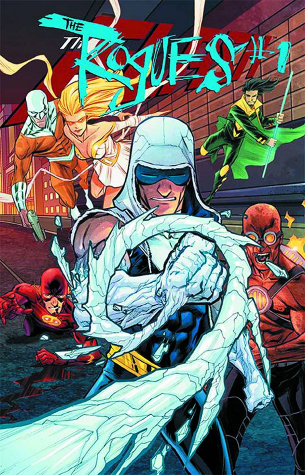 The Flash #23.3: Rogues Standard Cover