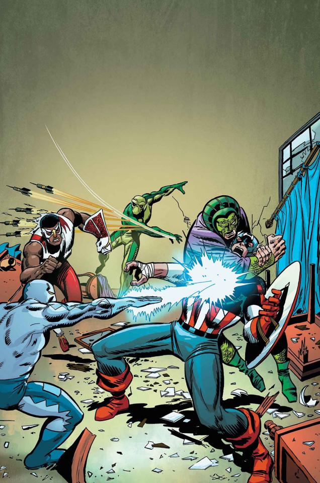 Captain America: Serpents Unite
