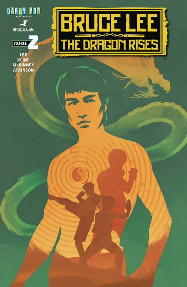 Bruce Lee: The Dragon Rises #2 (Langevin Cover)