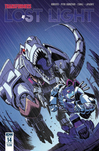 The Transformers: Lost Light #14 (Roche Cover)