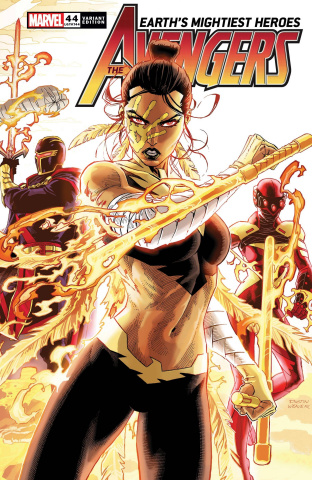 Avengers #44 (Weaver Connecting Cover)