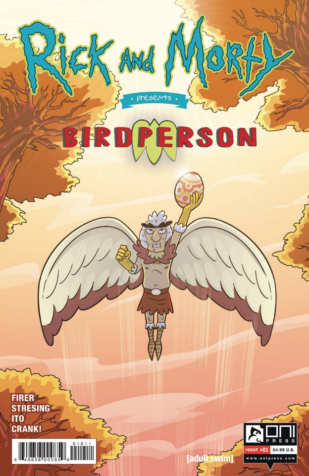 Rick and Morty Presents Birdperson #1 (Stressing Cover)