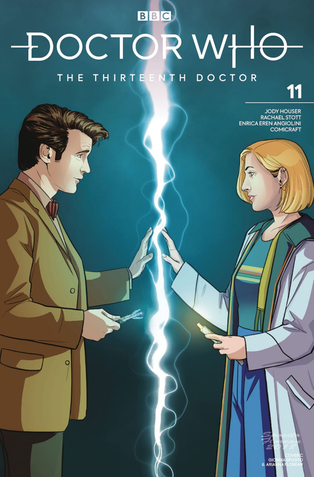 Doctor Who: The Thirteenth Doctor #11 (Eleventh Doctor Cover)