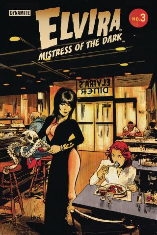Elvira: Mistress of the Dark #3 (Hack Cover)