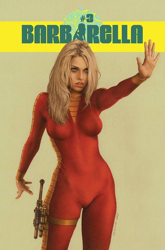 Barbarella #3 (Celina Cover)