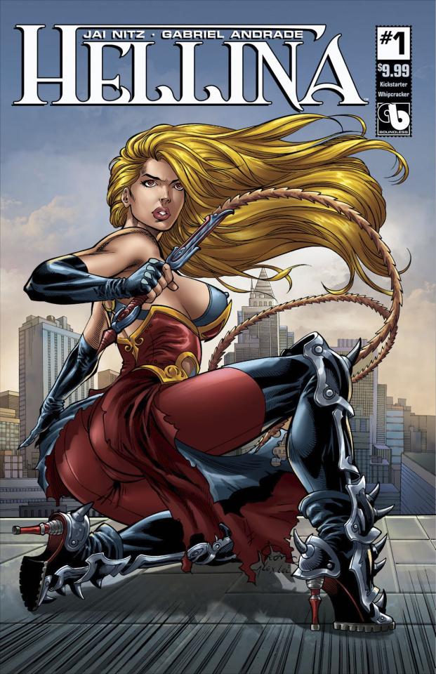 Hellina #1 (Whipcracker Cover)