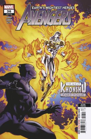 Avengers #36 (2nd Printing)