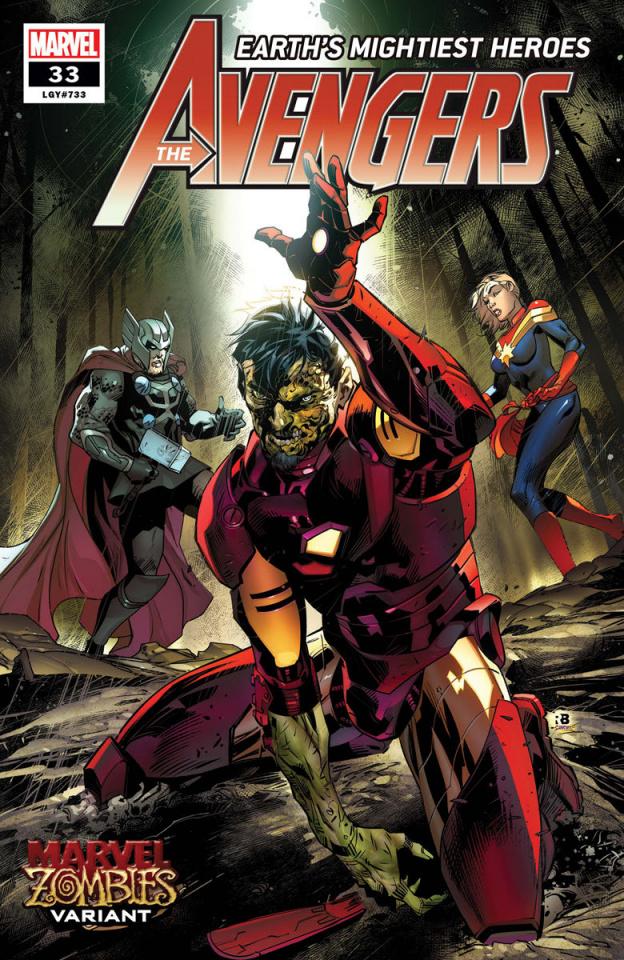 Avengers #33 (Benjamin Marvel Zombies Cover)