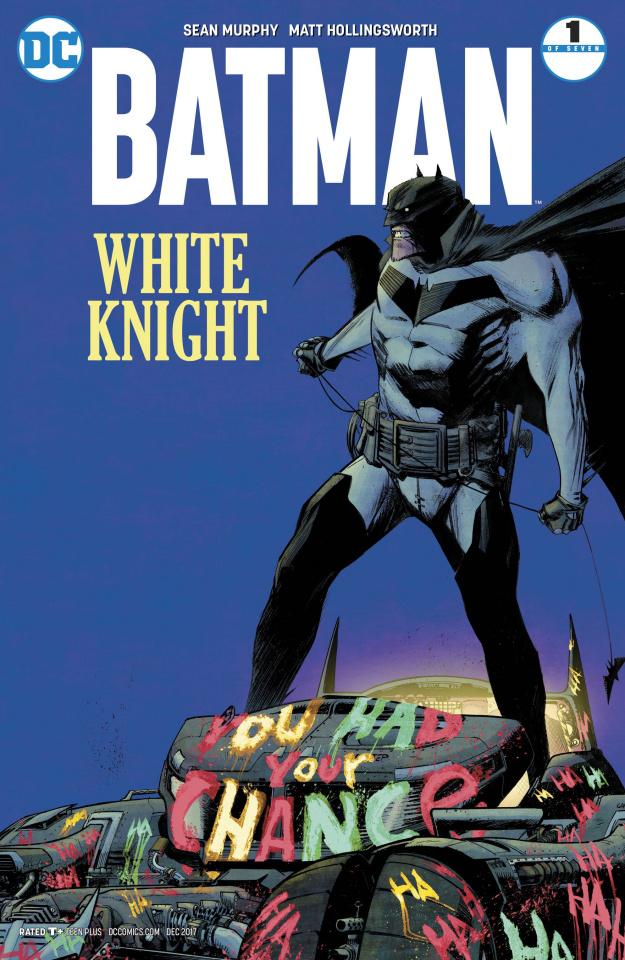 Batman: White Knight #1 (Variant Cover)